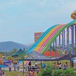 Aquaracer Water Slides - Octopus - Beraka Adventure Park - Xochitepec, Morelos, México