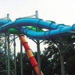 Aquaracer Water Slides - Whirlpool - Parque Los Ahuehuetes - Atenco, México