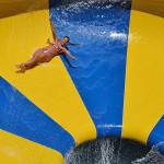 Bowl Water Slides - Body Typhoon - Parque Acuático Aquopolis - Mar del Plata, Argentina