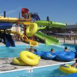 Body Water Slides - Hucks Harbor Water Park - Burlington, Iowa, USA