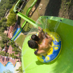 Extreme Water Slides - Toboloco - Aqualeon Water Park - Albinyana, Tarragona, España