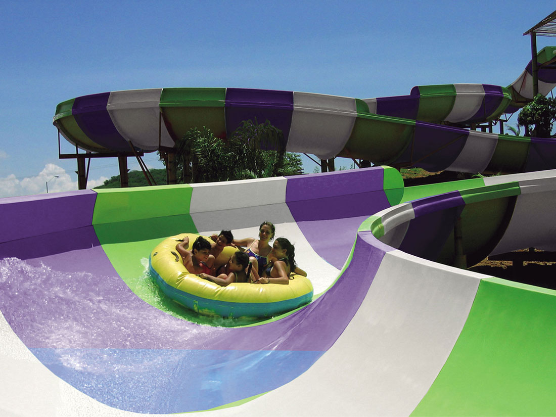 Family Water Slides - featured