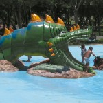 figura resbaladero dragon chino