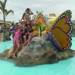 figura resbaladero mariposa