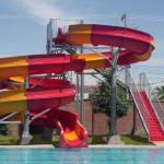 Residential Water Slides - Club Deportivo España - Torreón, Coahuila, México