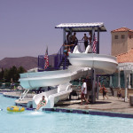 Residential Water Slides - Los Angeles, California, USA
