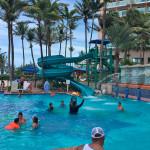 Residential Water Slides - Marriot Resort - San Juan, Puerto Rico