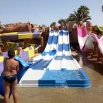 Toboganes de carreras - Aqualinea - Aqualand Costa Adeje Water Park - Tenerife, España