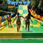 Toboganes de carreras - Aqualinea - Acuapark El Idilio - Peñaflor, Región Metropolitana, Chile
