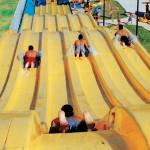 Toboganes de carreras - Aqualinea - Mundo Acuático Anita - Cd. Juarez, Chihuahua, México