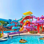 Toboganes de cuerpo - Flamingos Resort Water Park - Kissmme, Orlando, Florida, USA