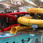 Toboganes de lancha - Hucks Harbor Water Park - Burlington, Iowa, USA