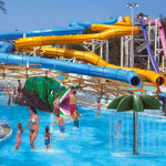 Toboganes de lancha - Sam's Fun City Water Park - Pensacola, Florida, USA