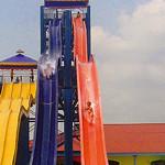 Toboganes de velocidad - Kamikaze - Parque Acuático Wonderland - San Pedro Sula, Honduras