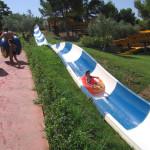 Toboganes de velocidad - Kamilancha - Aqualeon Water Park - Albinyana, Tarragona, España