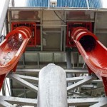 Toboganes de velocidad - Torpedo - Aquadiver - Platja d'Aro, Girona, España