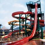Speed Water Slides - Kamikaze - Parque Acuático El Agua - Cardón Beach, Margarita, Venezuela