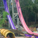 Speed Water Slides - Kamikaze - Sam's Fun City Water Park - Pensacola, Florida, USA