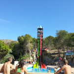 Speed Water Slides - Torpedo - Aqualandia - Benidorm, Alicante, España